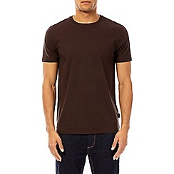 Burton - Chocolate short sleeve crew neck t-shirt
