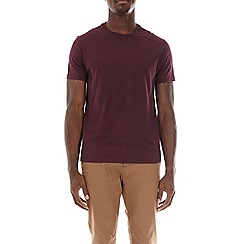 Burton - Fig tree burgundy crew neck t-shirt