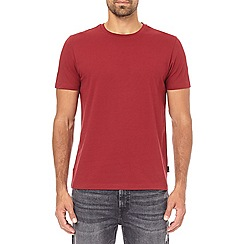 Burton - Biking red crew neck t-shirt