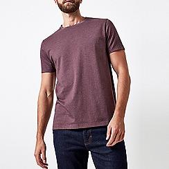 Burton - Raisin burgundy crew neck t-shirt
