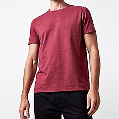 Burton - Raspberry pink marl crew neck t-shirt