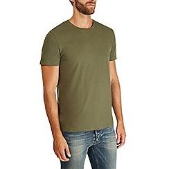 Burton - Khaki crew neck t-shirt