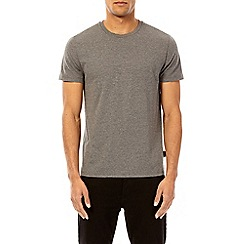 Burton - 3 pack white, black and grey marl crew neck t-shirt