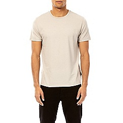 Burton - 3 pack raisin, navy and dove grey crew neck t-shirt