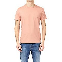 Burton - Hot coral crew neck t-shirt