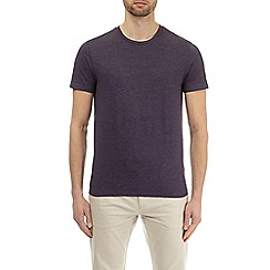 Burton - Purple marl crew neck t-shirt