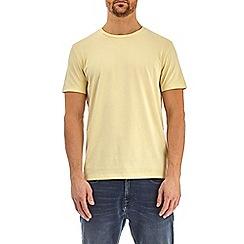 Burton - Dairy yellow crew neck t-shirt