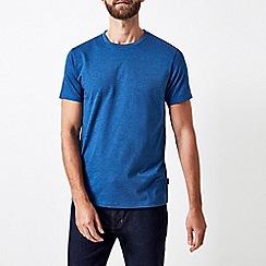 Burton - Monaco blue marl crew neck t-shirt