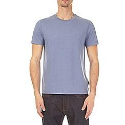 Burton - 3 pack ecru, blueberry and olive green crew neck t-shirt