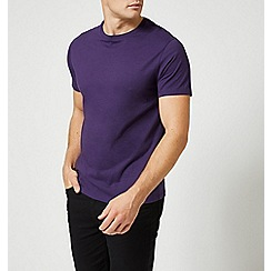 Burton - Purple reign crew neck t-shirt