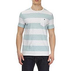 Burton - Mint block striped t-shirt