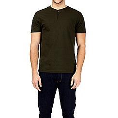 Burton - Khaki grandad t-shirt