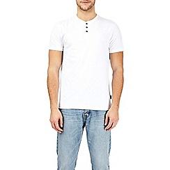Burton - White grandad t-shirt