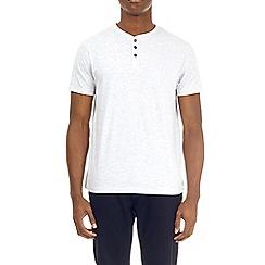 Burton - Frost grey grandad t-shirt