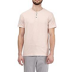 Burton - Light pink grandad t-shirt