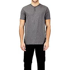 Burton - Charcoal grandad t-shirt