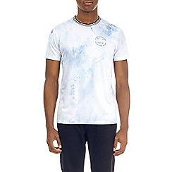 Burton - White new york mesh t-shirt