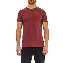 Burton - Pomegranate red marl muscle fit t-shirt