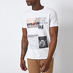 Burton - White New York Photographic T-Shirt