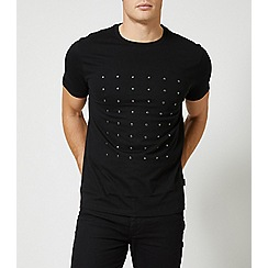 Burton - Black stud t-shirt