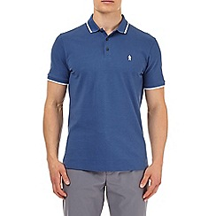 Burton - Blue prostate cancer UK polo shirt
