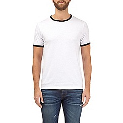 Burton - White and black ringer t-shirt
