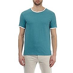 Burton - Jade and white ringer t-shirt