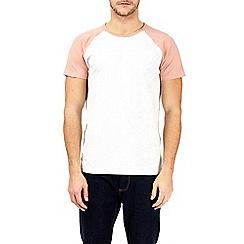 Burton - Coral and frost raglan t-shirt