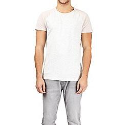Burton - Pink and frost raglan sleeve t-shirt