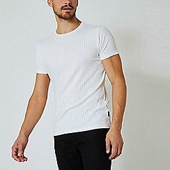 Burton - White Short Sleeve Rib T-Shirt