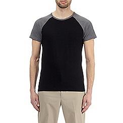 Burton - Charcoal and black raglan t-shirt