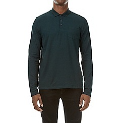 Burton - Emerald stretch polo shirt