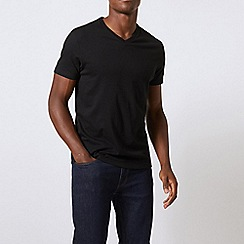 Burton - 2 pack black v-neck t-shirts