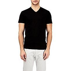 Burton - Black v-neck t-shirt