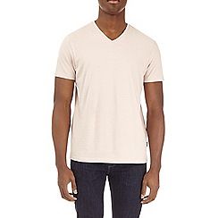 Burton - Cream v-neck t-shirt
