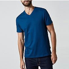 Burton - Deep blue v-neck t-shirt