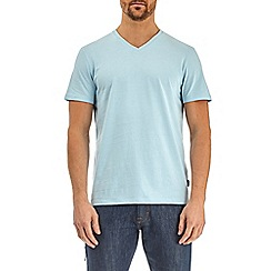 Burton - Sea spray blue v-neck t-shirt