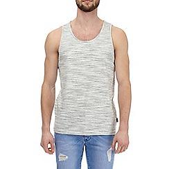 Burton - Ecru textured vest