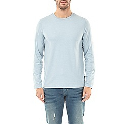 Burton - Blue fog marl long sleeve t-shirt