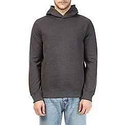 Burton - Charcoal marl over-head hoodie