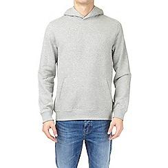 Burton - Grey marl over-head hoodie