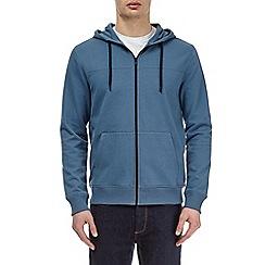 Burton - Blue fog zip-through hoodie
