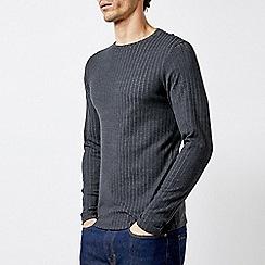 Burton - Charcoal Long Sleeve Rib T-Shirt