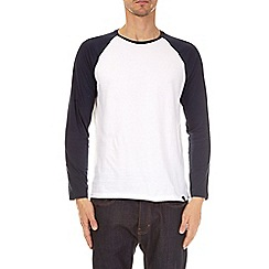 Burton - 3 pack grey, black and navy long sleeve raglan t-shirts