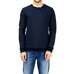 Burton - Blue smart twill sweatshirt