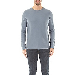 Burton - Blue fog mini waffle long sleeve t-shirt