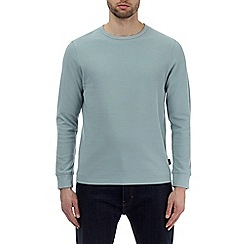 Burton - Green mini waffle long sleeve t-shirt
