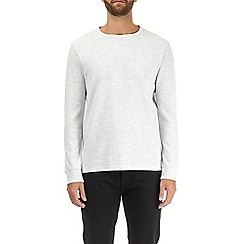 Burton - Cream mini waffle long sleeve t-shirt