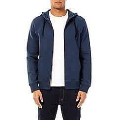 Burton - Atlantic blue zip-through hoodie