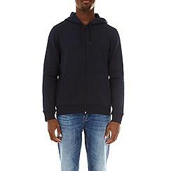 Burton - Navy zip through hoodie